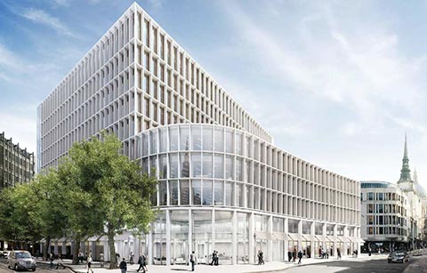 High efficiency, low noise air conditioning solution for two prestigious London buildings
