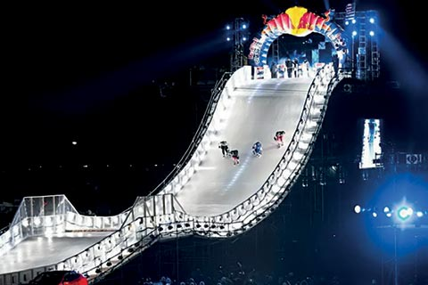 Red Bull Events >> Cooling System For Red Bull Ice Event