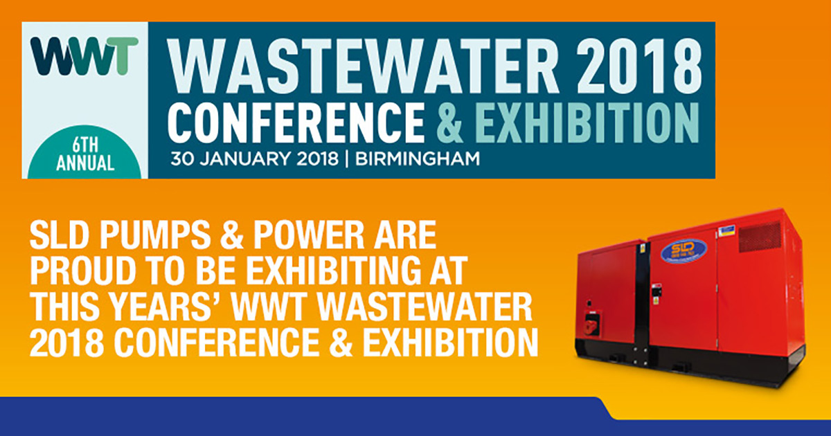 SLD Pumps & Power - WWT Exhibition & Conference