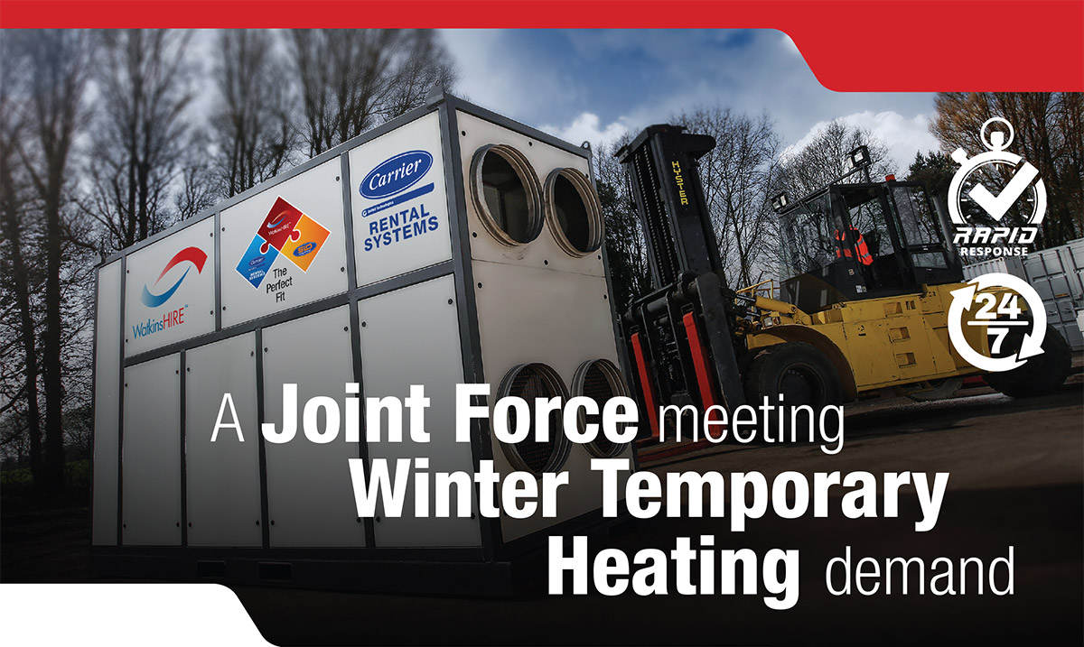 A Joint Force Meeting Winter Temporary Heating Demand