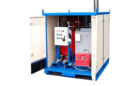 Steam boiler hire